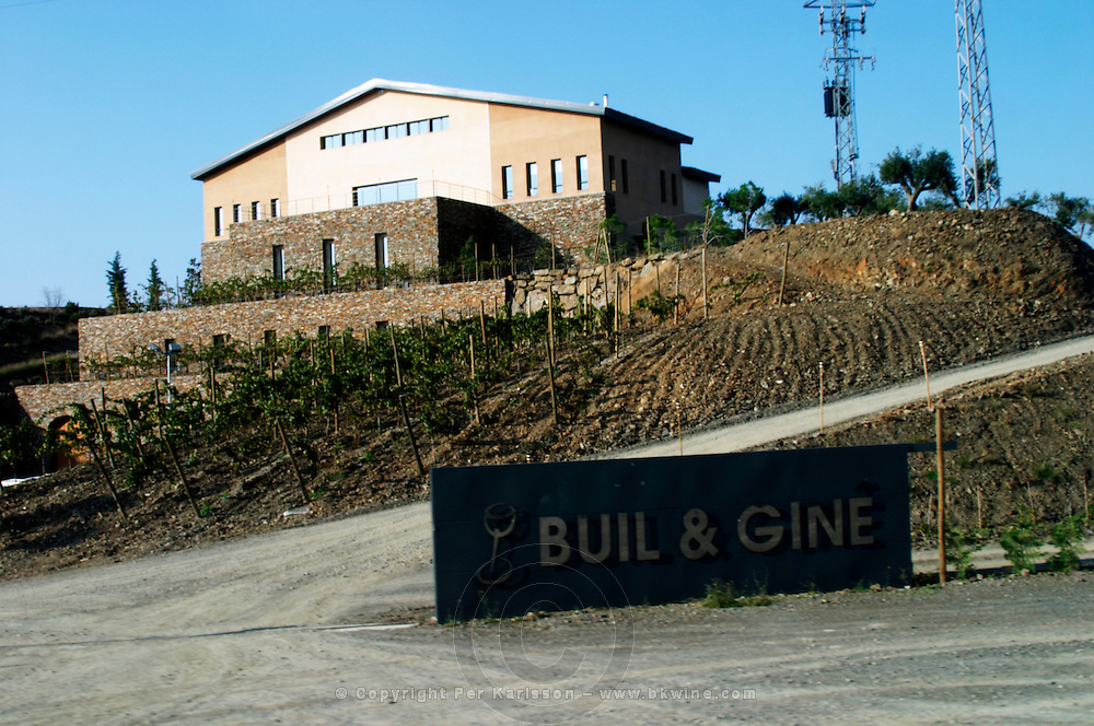 Winery building. Buil i Gine. Priorato, Catalonia, Spain