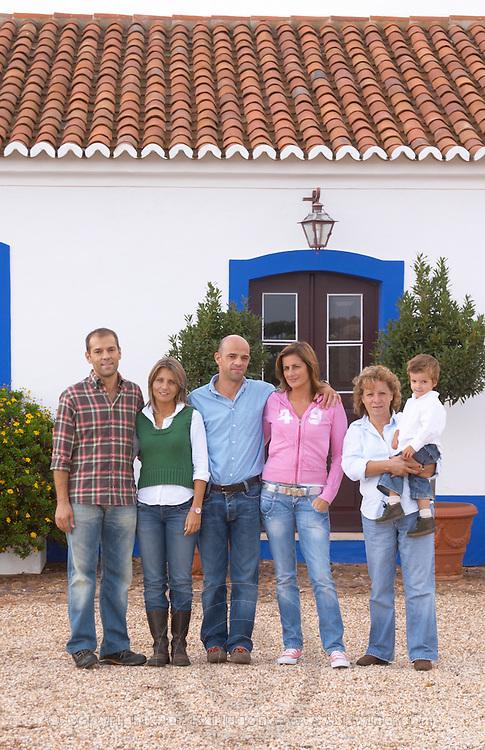 The Joao and Paulo Soares families, owners. Herdade da Malhadinha Nova, Alentejo, Portugal