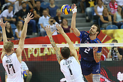 07.09.2014, Krakow Arena, Krakau, POL, FIVB WM, Italien vs USA, Gruppe D, im Bild JIRI KOVAR // during the FIVB Volleyball Men's World Championships Pool D Match beween Italy and USA at the Krakow Arena in Krakau, Poland on 2014/09/07. <br /> <br /> ***NETHERLANDS ONLY***