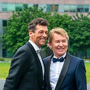 NLD/Amsterdam/201905225 - Amsterdamdiner 2019, Hans Cornelissen en partner Ton Backer