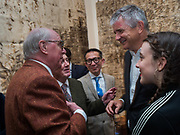 GILBERT AND GEORGE; JAY JOPLING; ANGELICA JOPLING, Gilbert and George opening,  The General Jungle or Carrying on Sculpting. Levy Gorvy Gallerty. Old Bond St. London. 12 September 2017