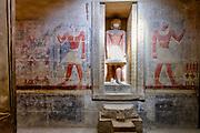 False door in the tomb of Mereruka in Saqqara