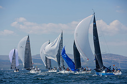 Sailing - SCOTLAND  - 25th-28th May 2018<br /> <br /> The Scottish Series 2018, organised by the  Clyde Cruising Club, <br /> <br /> First days racing on Loch Fyne.<br /> <br /> RC35 Fleet with GBR 732R, Wildebeeste, Craig Latimer, Ker 32<br /> <br /> Credit : Marc Turner<br /> <br /> <br /> Event is supported by Helly Hansen, Luddon, Silvers Marine, Tunnocks, Hempel and Argyll & Bute Council along with Bowmore, The Botanist and The Botanist