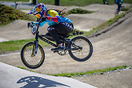#100 (PAJON Mariana) COL during practice of Round 3 at the 2018 UCI BMX Superscross World Cup in Papendal, The Netherlands