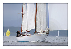 Day one of the Fife Regatta, Round Cumbraes Race.<br /> <br /> Latifa, 8, Mario Pirri, ITA, Bermudan Yawl, Wm Fife 3rd, 1936<br /> <br /> * The William Fife designed Yachts return to the birthplace of these historic yachts, the Scotland's pre-eminent yacht designer and builder for the 4th Fife Regatta on the Clyde 28th June–5th July 2013<br /> <br /> More information is available on the website: www.fiferegatta.com