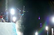 Kevin Rolland during Men's Ski SuperPipe Eliminations at the 2013 X Games Tignes in Tignes, France. ©Brett Wilhelm
