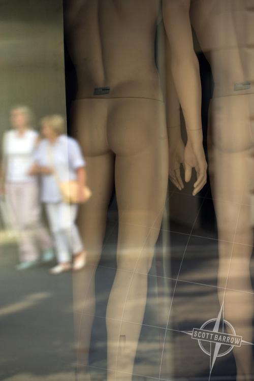 Mannequins, Shop window, Zurich, Switzerland