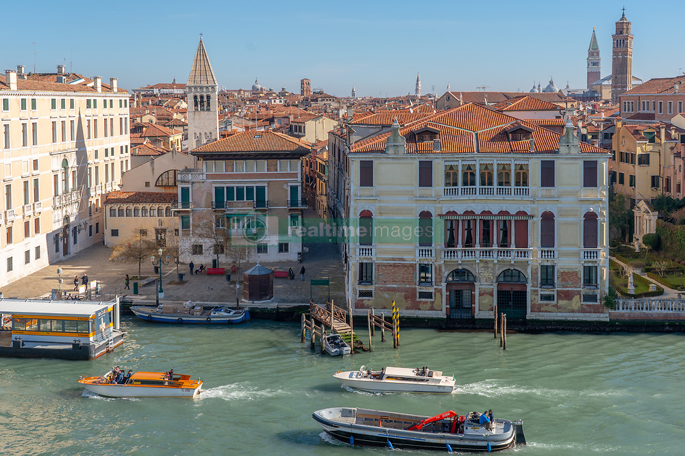 General views of Venice rooftops. From a series of travel photos in Italy. Photo date: Wednesday, February 13, 2019. Photo credit should read: Richard Gray/EMPICS
