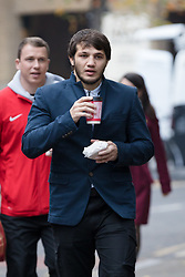 © Licensed to London News Pictures. 08/11/2017. LONDON, UK.  ABDURAHMAN BAZAEV arrives at Southwark Crown Court, to appear with Vugar Mollachiev. The two Russians are accused of a £2m malware plot against UK banks. Photo credit: Vickie Flores/LNP