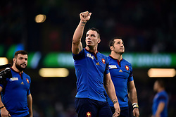 Louis Picamoles of France acknowledges the crowd after the match - Mandatory byline: Patrick Khachfe/JMP - 07966 386802 - 11/10/2015 - RUGBY UNION - Millennium Stadium - Cardiff, Wales - France v Ireland - Rugby World Cup 2015 Pool D.