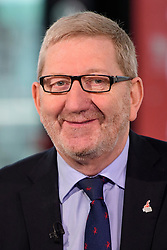 © Licensed to London News Pictures. 28/09/2016. Liverpool, UK. General Secretary of Unite the Union LEN MCCLUSKEY seen during a Sky News interview at day four of the Labour Party Annual Conference, held at the ACC in Liverpool, Merseyside, UK. Photo credit: Ben Cawthra/LNP