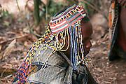 Africa, Tanzania, Lake Eyasi, portrait of a mature Hadza male. A small tribe of hunter gatherers AKA Hadzabe Tribe