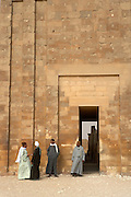 Archeological site at Saqqara, Egypt
