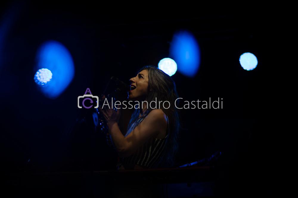 Ferrara Sotto le Stelle 24-06-2019 FOTO DI CASTALDI, NELLA FOTO: Julia Holter