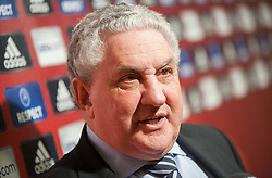 UEFA Youth and Amateur Football Committee chairman Jim Boyce  at Final Round Draw of 11th UEFA European Under-17 Championship 2011/12, on April 4, 2012, in Ljubljana, Slovenia. (Photo by Vid Ponikvar / Sportida.com)