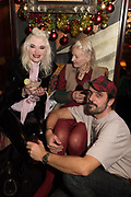 PAM HOGG, VIVIENNE WESTWOOD; ANDREAS KRONTHALER, Nick Cave and the Bad Seeds with The Vampire's Wife and Matchesfashion.com party to celebrate the end of their 2017 World tour. Lou lou's. Hertford St. Mayfair.