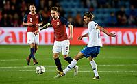 Fotball, 13. oktober 2018 , Nations League , Norge - Slovenia , <br /> Norway - Slovenia<br /> Rene Krhin , Slovenia<br /> Stefan Johansen , Norge