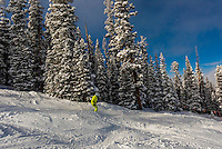 Skiing, Keystone Resort, Colorado USA.