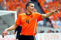 Fotball<br /> Nederland v Ungarn<br /> Foto: Proshots/Digitalsport<br /> NORWAY ONLY<br /> <br /> seizoen 2009 / 2010 , amsterdam 05-06-2010 oefeninterland nederland - hongarije robin van persie