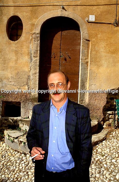Antonio Tabucchi<br />world copyright Giovanni Giovannetti/effigie / Writer Pictures<br /> <br /> NO ITALY, NO AGENCY SALES / Writer Pictures<br /> <br /> NO ITALY, NO AGENCY SALES