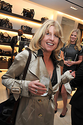 RACHEL JOHNSON at a reception hosted by Vogue and Burberry to celebrate the launch of Fashions Night Out - held at Burberry, 21-23 Bond Street, London on 10th September 2009.