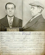 Vintage mugshots from the 1930s <br /> <br /> This mug shot comes from a police identification book believed to be<br /> from the 1930s. It was originally found in a junk shop by a member of<br /> the public and subsequently donated to Tyne & Wear Archives & Museums.<br /> No information is available to confirm which police force compiled it<br /> but evidence suggests it's from the Newcastle upon Tyne area. <br /> copyright must read: 'Tyne & Wear Archives & Museums/Exclusivepix<br />  Many of these intriguing photographs are also accompanied by a description of the person and the crime(s) they have committed.<br /> William Bright, a Labourer, his crime, warehouse breaker specialises in stealing from tills in shops<br />  ©exclusivepix