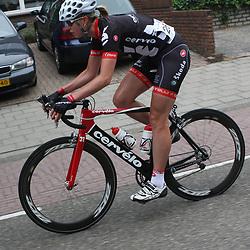 Sportfoto archief 2006-2010<br /> 2009<br /> Nederlands kampioenschap weg in Landgraaf-Heerlen, Regina Bruins (Testteam Cervelo)