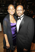 l to r: Jessica Lebron and Kyle Donavan at The 2009 NV Awards: A Salute to Urban Professionals sponsored by Hennessey held at The New York Stock Exchange on February 27, 2009 in New York City. ....