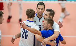 23-09-2016 NED: EK Kwalificatie Turkije - Wit Rusland, Koog aan de Zaan<br /> Turkije had het vrij lastig in de eerste wedstrijd tegen Wit Rusland maar blijven meedoen voor het EK ticket / Vreugde bij Wit Rusland