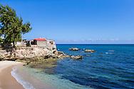 Shoreline in Gibara, Holguin, Cuba.