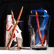 "Unbelievable Paintings That Look Like Photographs<br /> <br /> Pedro Campos (46), is an incredible hyperrealist painter from Madrid, Spain. Using oil paints he recreates incredibly realistic still life shots that many might mistake for a photograph. He's worked in a variety of creative fields from interior decorating, illustration (at an ad agency), to art restoration on furnishings, paintings and sculptures. He actually didn't even begin oil painting until the age of 30.<br /> Campos attributes his work in restoration to honing his craft in precision, stating: ""I think the influence of restoration in developing my own way of painting has been important. The restoration of lost areas in antique paintings forces you to seek excatitude in color: any personal intervention should go unnoticed.""<br /> While many compare Campos to other realist masters, he proclaims his artistic admiration for artists such as: Lucien Freud, Richard Estes, Francis Bacon, Antonio López, and Anish Kapoor, for their quality of ""distinction"" in their works. <br /> <br /> Pedro Campos is exclusively represented by Plus One Gallery and all images of his paintings are accredited ""www.plusonegallery.com"" <br /> ©plusonegallery/Exclusivepix"