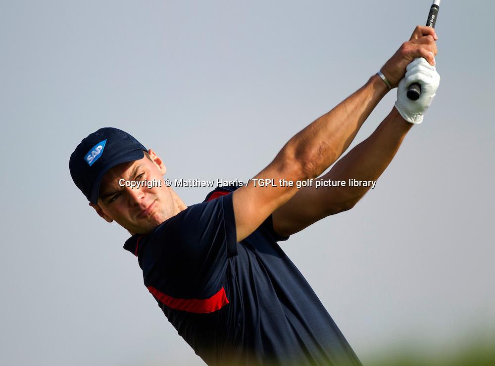 Martin KAYMER (GER) during first round HSBC Abu Dhabi Championship 2014,Abu Dhabi Golf Club,Abu Dhabi,UAE.