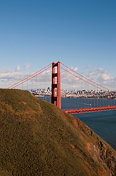 Marin Headlands; sightseeing; Golden Gate Bridge, San Francisco, California, USA.  Photo copyright Lee Foster.  Photo # california108710