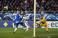 Goal Andre Pierre GIGNAC - 04.01.2015 -  Grenoble / Marseille - Coupe de France<br />Photo : Gaston Petrelli  / Icon Sport