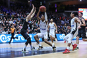 Basketball: 1. Bundesliga, Hamburg Towers - Hakro Merlins Crailsheim 91:92, Hamburg, 29.02.2020<br /> Demarcus Holland (Towers, M.)<br /> © Torsten Helmke