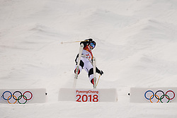 February 9, 2018 - Pyeongchang, South Korea - 180209 Vinegar Slatten of Norway compete in the MenÃ•s Moguls Qualification during the 2018 Winter Olympics on February 9, 2018 in Pyeongchang..Photo: Petter Arvidson / BILDBYRN / kod PA / 91956 (Credit Image: © Petter Arvidson/Bildbyran via ZUMA Press)
