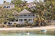 The Landing resort hotel in Dunmore Town, Harbour Island, The Bahamas.