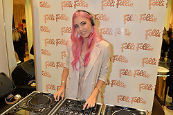 LONDON, ENGLAND 1 DECEMBER 2016: Amber Le Bon at the launch of the new Folli Follie store at 124 Regent Street, London, England. 1 December 2016.