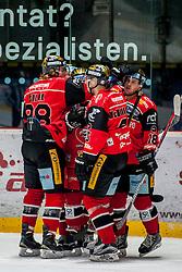 08.01.2017, Ice Rink, Znojmo, CZE, EBEL, HC Orli Znojmo vs Dornbirner Eishockey Club, 41. Runde, im Bild v.l. Libor Sulak (HC Orli Znojmo) Sean McMonagle (HC Orli Znojmo) Adam Hughesman (HC Orli Znojmo) // during the Erste Bank Icehockey League 41th round match between HC Orli Znojmo and Dornbirner Eishockey Club at the Ice Rink in Znojmo, Czech Republic on 2017/01/08. EXPA Pictures © 2017, PhotoCredit: EXPA/ Rostislav Pfeffer