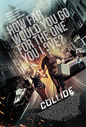 RELEASE DATE: February 3, 2017 TITLE: Collide STUDIO: Open Road Films DIRECTOR: Eran Creevy PLOT: An American backpacker gets involved with a ring of drug smugglers as their driver, though he winds up on the run from his employers across Cologne high-speed Autobahn STARRING: Poster Art (Credit: © Open Road Films/Entertainment Pictures/ZUMAPRESS.com)