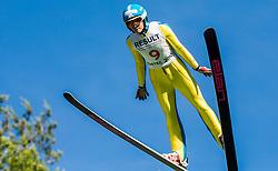 Nita Englund (USA) during Ski jumping Summer cup - 45. Revija skokov Mostec on June 4, 2016 in Mostec hill, Ljubljana, Slovenia.Photo by Vid Ponikvar / Sportida