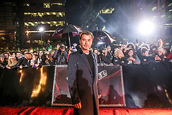 New Coach Gavin Rosedale poses on the red carpet before the Blind Auditions begin for the new series of  The Voice on ITV.