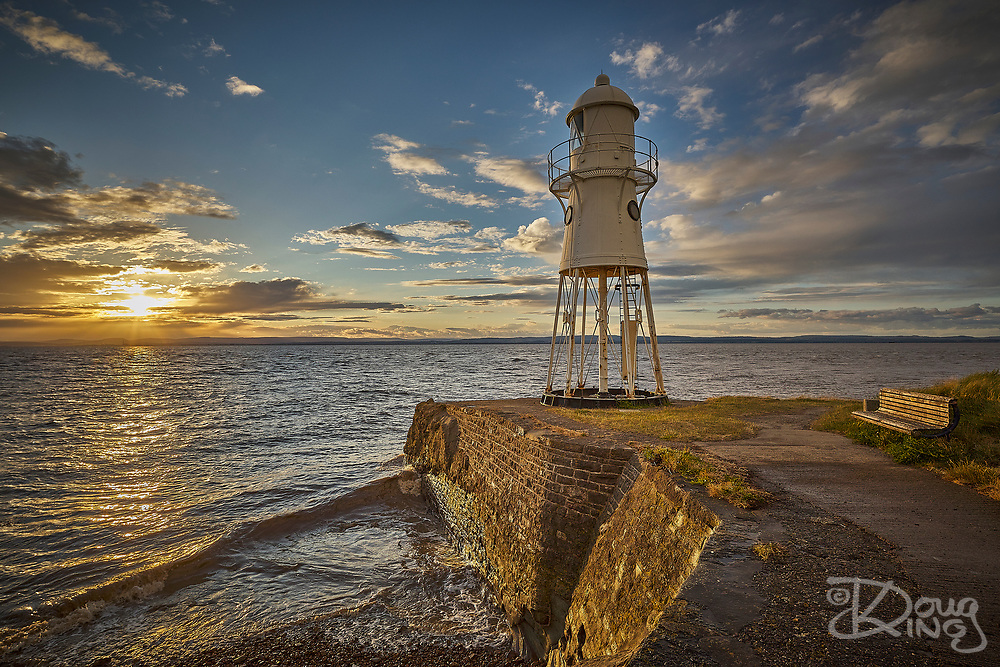 Black Nore Lighthouse at Portishead in Somerset was built in 1894 to guide shipping approaching Bristol Docks. Now a Grade 2 listed structure the light was decommissioned in 2010.