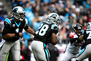 December 24, 2016: Carolina Panthers vs Atlanta Falcons. Cam Newton, Jonathan Stewart