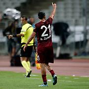 Trabzonspor's Erkan Zengin during their Turkish Super League soccer derby match Besiktas between Trabzonspor at the Ataturk Olimpiyat stadium in Istanbul Turkey on Saturday, 22 August 2015. Photo by Aykut AKICI/TURKPIX