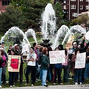 Protest in Kansas City against the Arizona SB 1070 law.