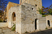 Old deserted and dilapidated building. Photographed in Abu Gosh, Israel
