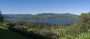 Panoramic view of Lake Arenal, just west of La Fortuna, Alajuela, Costa Rica.