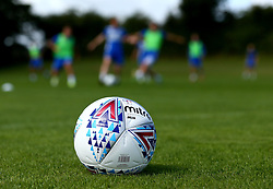 The new Mitre Delta Football at Bristol Rovers training ground ahead of the New EFL Season - Mandatory by-line: Robbie Stephenson/JMP - 31/07/2017 - FOOTBALL - Bristol Rovers Training Ground - Bristol, England - Bristol Rovers Training