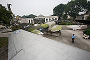 Army Museum. American war planes captured during Vietnam war.